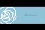 Roses bleues officielles Étiquettes D'Adresse - gabarit prédéfini. <br/>Utilisez notre logiciel Avery Design & Print Online pour personnaliser facilement la conception.