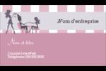 Salon Silhouette Carte d'affaire - gabarit prédéfini. <br/>Utilisez notre logiciel Avery Design & Print Online pour personnaliser facilement la conception.
