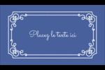 Calque élégant Carte d'affaire - gabarit prédéfini. <br/>Utilisez notre logiciel Avery Design & Print Online pour personnaliser facilement la conception.