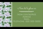 Savon fleurs vertes Carte d'affaire - gabarit prédéfini. <br/>Utilisez notre logiciel Avery Design & Print Online pour personnaliser facilement la conception.