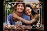 Calque élégant Carte Postale - gabarit prédéfini. <br/>Utilisez notre logiciel Avery Design & Print Online pour personnaliser facilement la conception.