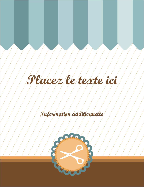 """5½"""" x 4¼"""" Carte Postale - Ciseaux"""