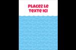 Requins bleus Carte Postale - gabarit prédéfini. <br/>Utilisez notre logiciel Avery Design & Print Online pour personnaliser facilement la conception.