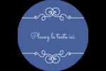 Calque élégant Étiquettes rondes - gabarit prédéfini. <br/>Utilisez notre logiciel Avery Design & Print Online pour personnaliser facilement la conception.