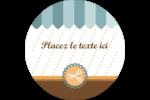 Ciseaux Étiquettes rondes - gabarit prédéfini. <br/>Utilisez notre logiciel Avery Design & Print Online pour personnaliser facilement la conception.