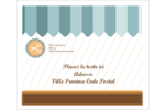 Ciseaux Étiquettes d'expédition - gabarit prédéfini. <br/>Utilisez notre logiciel Avery Design & Print Online pour personnaliser facilement la conception.