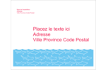 Requins bleus Étiquettes d'expédition - gabarit prédéfini. <br/>Utilisez notre logiciel Avery Design & Print Online pour personnaliser facilement la conception.
