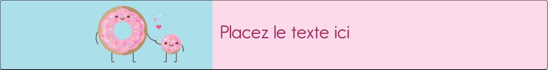 """1½"""" x 2½"""" Étiquettes ovales - Bec sucré"""