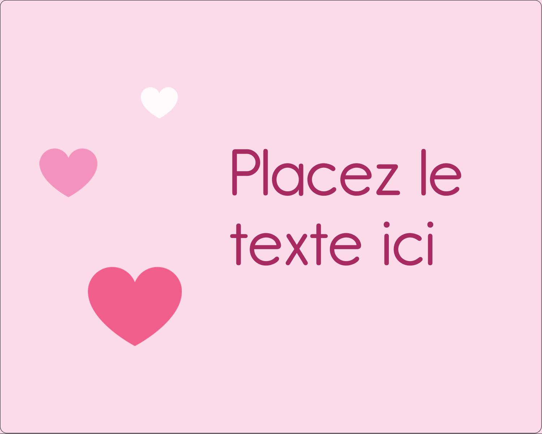 """2"""" Diameter Étiquettes rondes gaufrées - Bec sucré"""