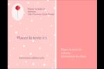 Sucette de Saint-Valentin Carte Postale - gabarit prédéfini. <br/>Utilisez notre logiciel Avery Design & Print Online pour personnaliser facilement la conception.