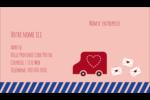 Saint-Valentin par la poste Carte d'affaire - gabarit prédéfini. <br/>Utilisez notre logiciel Avery Design & Print Online pour personnaliser facilement la conception.
