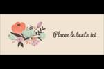 Jardin exotique Affichette - gabarit prédéfini. <br/>Utilisez notre logiciel Avery Design & Print Online pour personnaliser facilement la conception.