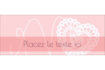 Saint-Valentin au crochet Affichette - gabarit prédéfini. <br/>Utilisez notre logiciel Avery Design & Print Online pour personnaliser facilement la conception.