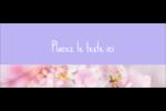 Arrangement floral Affichette - gabarit prédéfini. <br/>Utilisez notre logiciel Avery Design & Print Online pour personnaliser facilement la conception.