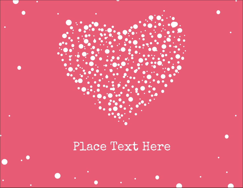 """5½"""" x 4¼"""" Postcard - Heart Spot"""
