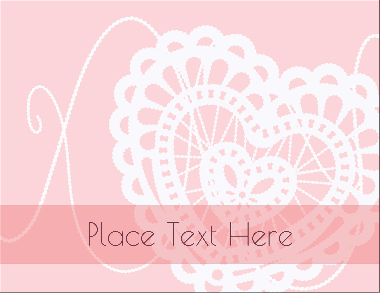"5½"" x 4¼"" Postcard - Valentine Crochet"