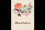 Jardin exotique Carte Postale - gabarit prédéfini. <br/>Utilisez notre logiciel Avery Design & Print Online pour personnaliser facilement la conception.