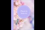 Arrangement floral Carte Postale - gabarit prédéfini. <br/>Utilisez notre logiciel Avery Design & Print Online pour personnaliser facilement la conception.