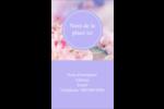 Arrangement floral Carte d'affaire - gabarit prédéfini. <br/>Utilisez notre logiciel Avery Design & Print Online pour personnaliser facilement la conception.