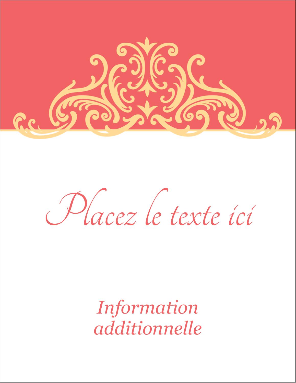 """5½"""" x 4¼"""" Carte Postale - Élégance et mariage"""