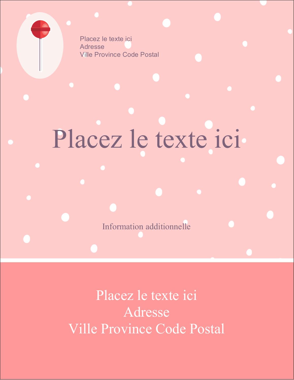 """5½"""" x 4¼"""" Carte Postale - Sucette de Saint-Valentin"""