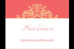 Élégance et mariage Carte Postale - gabarit prédéfini. <br/>Utilisez notre logiciel Avery Design & Print Online pour personnaliser facilement la conception.