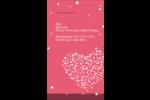 Amas en cœur Carte d'affaire - gabarit prédéfini. <br/>Utilisez notre logiciel Avery Design & Print Online pour personnaliser facilement la conception.