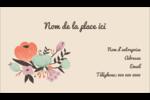 Jardin exotique Carte d'affaire - gabarit prédéfini. <br/>Utilisez notre logiciel Avery Design & Print Online pour personnaliser facilement la conception.