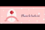 Sucette de Saint-Valentin Affichette - gabarit prédéfini. <br/>Utilisez notre logiciel Avery Design & Print Online pour personnaliser facilement la conception.