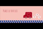 Saint-Valentin par la poste Affichette - gabarit prédéfini. <br/>Utilisez notre logiciel Avery Design & Print Online pour personnaliser facilement la conception.
