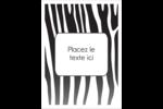 Imprimé zébré Étiquettes rondes - gabarit prédéfini. <br/>Utilisez notre logiciel Avery Design & Print Online pour personnaliser facilement la conception.