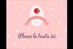 Sucette de Saint-Valentin Étiquettes rondes gaufrées - gabarit prédéfini. <br/>Utilisez notre logiciel Avery Design & Print Online pour personnaliser facilement la conception.