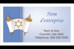 Rouleau de la Torah Carte d'affaire - gabarit prédéfini. <br/>Utilisez notre logiciel Avery Design & Print Online pour personnaliser facilement la conception.