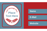 Grow your custom project into greatness with pre-designed Grey Red Foliage templates.