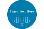 Customize personal or professional projects with pre-designed Leaf Menorah templates.