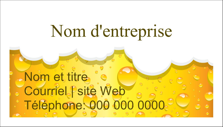 """3"""" x 5"""" Cartes Pour Le Bureau - Image de bière"""