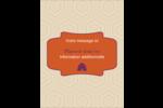 Ruche violette Carte Postale - gabarit prédéfini. <br/>Utilisez notre logiciel Avery Design & Print Online pour personnaliser facilement la conception.