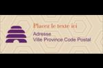 Ruche violette Étiquettes D'Adresse - gabarit prédéfini. <br/>Utilisez notre logiciel Avery Design & Print Online pour personnaliser facilement la conception.