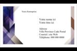 Prisme de verre Cartes Pour Le Bureau - gabarit prédéfini. <br/>Utilisez notre logiciel Avery Design & Print Online pour personnaliser facilement la conception.