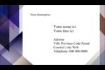 Prisme de verre Carte d'affaire - gabarit prédéfini. <br/>Utilisez notre logiciel Avery Design & Print Online pour personnaliser facilement la conception.