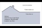 Construction de maison Cartes Pour Le Bureau - gabarit prédéfini. <br/>Utilisez notre logiciel Avery Design & Print Online pour personnaliser facilement la conception.