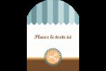 Ciseaux Étiquettes rectangulaires - gabarit prédéfini. <br/>Utilisez notre logiciel Avery Design & Print Online pour personnaliser facilement la conception.