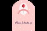 Sucette de Saint-Valentin Étiquettes rectangulaires - gabarit prédéfini. <br/>Utilisez notre logiciel Avery Design & Print Online pour personnaliser facilement la conception.