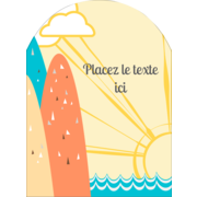 Surfeur rétro
