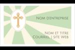 Croix pastel Cartes Pour Le Bureau - gabarit prédéfini. <br/>Utilisez notre logiciel Avery Design & Print Online pour personnaliser facilement la conception.