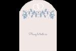 Réservez la date bleu Étiquettes rectangulaires - gabarit prédéfini. <br/>Utilisez notre logiciel Avery Design & Print Online pour personnaliser facilement la conception.