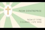 Croix pastel Carte d'affaire - gabarit prédéfini. <br/>Utilisez notre logiciel Avery Design & Print Online pour personnaliser facilement la conception.