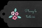 Craie florale Étiquettes imprimables - gabarit prédéfini. <br/>Utilisez notre logiciel Avery Design & Print Online pour personnaliser facilement la conception.