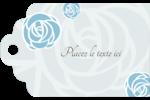 Roses bleues officielles Étiquettes imprimables - gabarit prédéfini. <br/>Utilisez notre logiciel Avery Design & Print Online pour personnaliser facilement la conception.