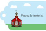 École rouge Étiquettes imprimables - gabarit prédéfini. <br/>Utilisez notre logiciel Avery Design & Print Online pour personnaliser facilement la conception.